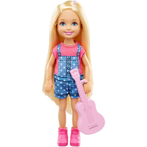 Picture of Barbie Chelsea Camping Fun Doll - Guitar
