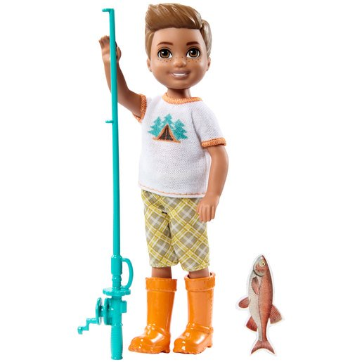 Picture of Barbie Chelsea Camping Fun Doll - Fisherman