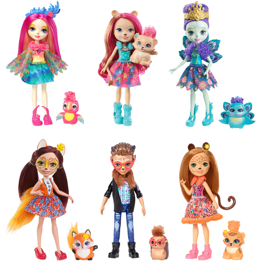 Picture of Enchantimals Natural Friends Doll Collection - 6 Pack