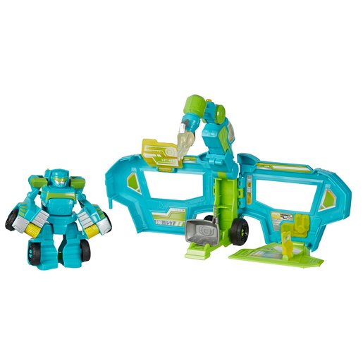 Picture of Playskool Transformers Rescue Bots Academy - Command Centre Hoist Rescue Trailer