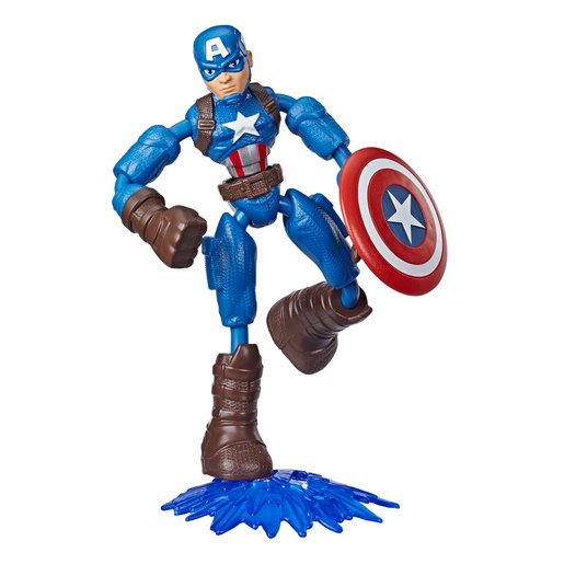Picture of Bend and Flex Marvel Avengers Figure - Captain America