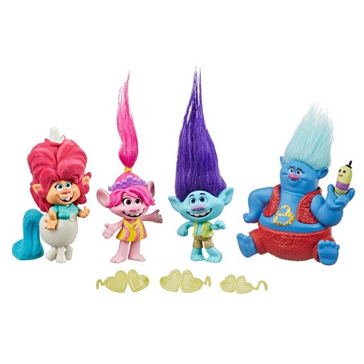 Picture of DreamWorks Trolls World Tour Lonesome Flats Tour Figure Pack