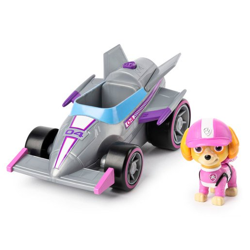 Picture of Paw Patrol Ready Race Rescue Race and Go Deluxe Vehicle - Skye
