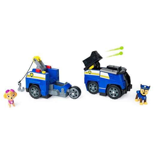 Picture of Paw Patrol Split-Second 2-in-1 Transforming Vehicle - Chase