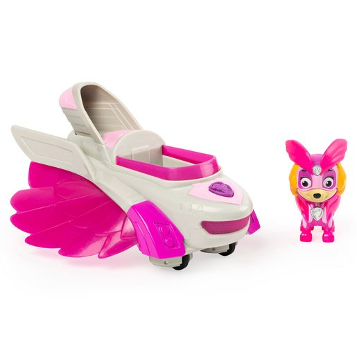 Picture of Paw Patrol Mighty Pups Charged Up Deluxe Vehicle - Skye