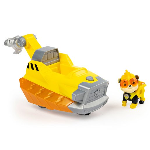 Picture of Paw Patrol Mighty Pups Charged Up Deluxe Vehicle - Rubble
