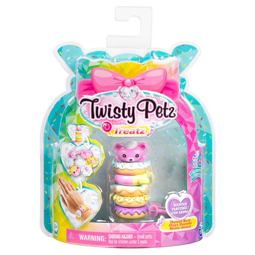 Picture of Twisty Petz Treatz Series 4 Bracelet - Donut Bear