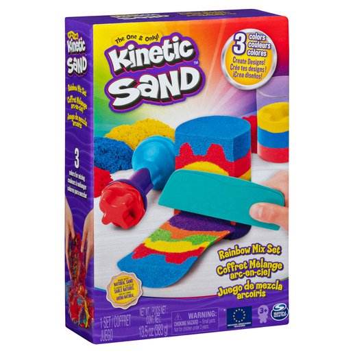 Picture of Kinetic Sand Rainbow Mix Set