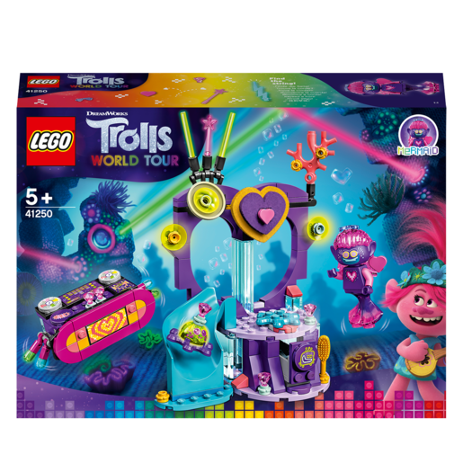 Picture of LEGO DreamWorks Trolls World Tour Techno Reef Dance Party - 41250