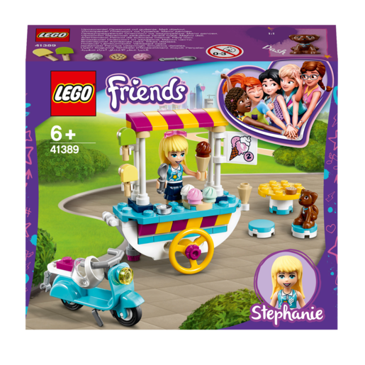 Picture of LEGO Friends Ice Cream Cart - 41389