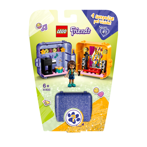 Picture of LEGO Friends Andrea's Play Cube - 41400