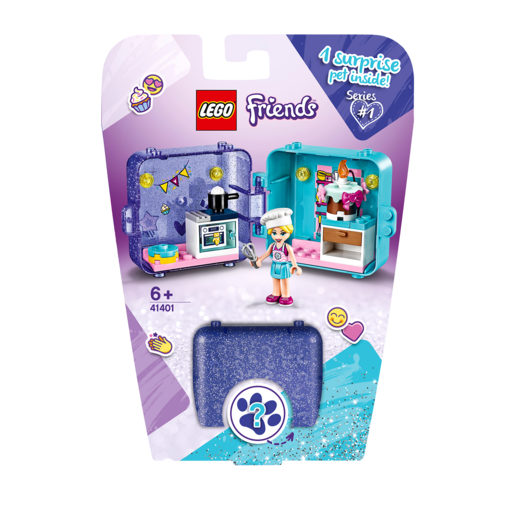 Picture of LEGO Friends Stephanie's Play Cube - 41401