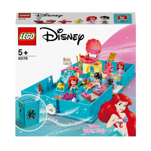 Picture of LEGO Disney Princess Ariel's Storybook Adventures - 43176