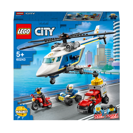 Picture of LEGO City Police Helicopter Chase - 60243