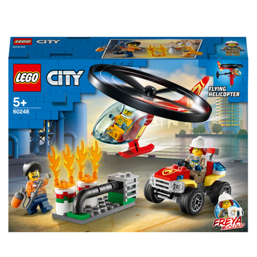 Picture of LEGO City Fire Helicopter Response - 60248
