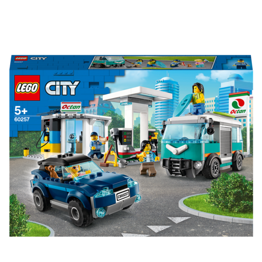 Picture of LEGO City Service Station - 60257