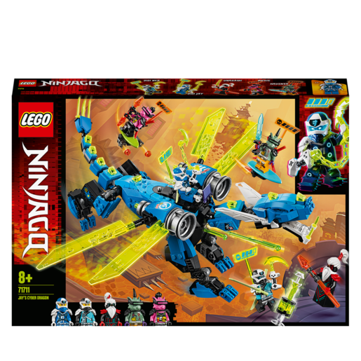 Picture of LEGO Ninjago Jay's Cyber Dragon - 71711