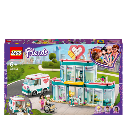 Picture of LEGO Friends Heartlake City Hospital - 41394