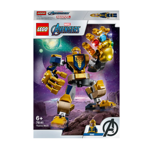 Picture of LEGO Marvel Thanos Mech - 76141