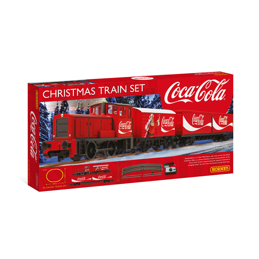 Picture of Hornby Coca Cola Christmas Train Set