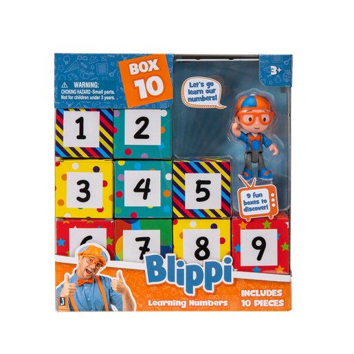 Picture of Blippi Surprise Box - Learning Numbers
