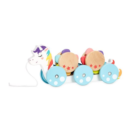 Picture of Little Tikes Wooden Critters Unicorn Pull Toy