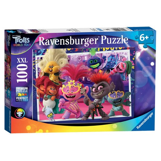 Picture of Ravensburger DreamWorks Trolls World Tour XXL Puzzle - 100pcs.