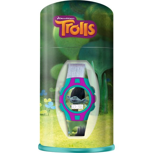 Picture of DreamWorks Trolls Watch and Metal Box - Branch