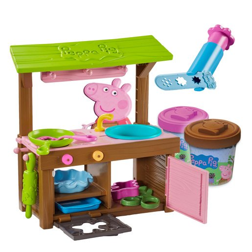 Picture of Peppa Pig Peppa's Mud Kitchen Dough Set