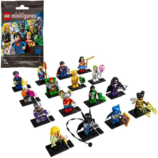 Picture of LEGO DC Super Heroes Minifigure (One Supplied. Styles Vary) - 71026