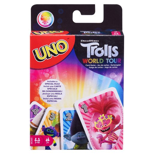 Picture of DreamWorks Trolls World Tour UNO Card Game