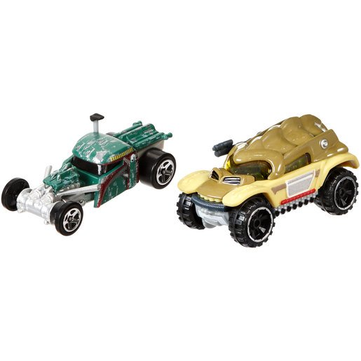 Picture of Star Wars Hot Wheels Cars - Boba Fett and Bossk