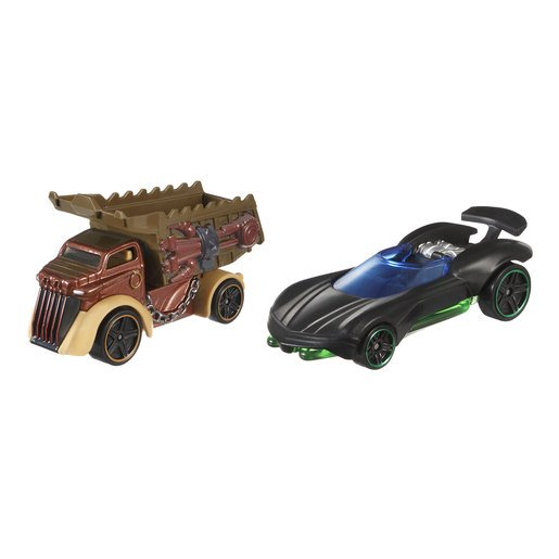 Picture of Star Wars Hot Wheels Cars - Luke Skywalker and Rancor