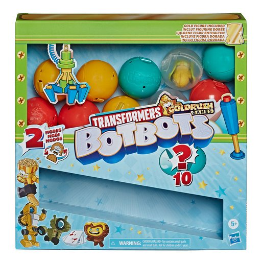 Picture of Transformers Gold Rush Games BotBots - Claw Machine
