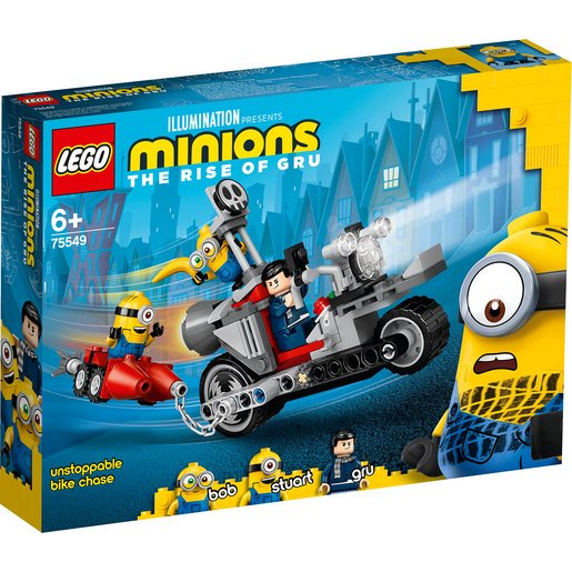 Picture of LEGO Minions The Rise of Gru Unstoppable Bike Chase - 75549