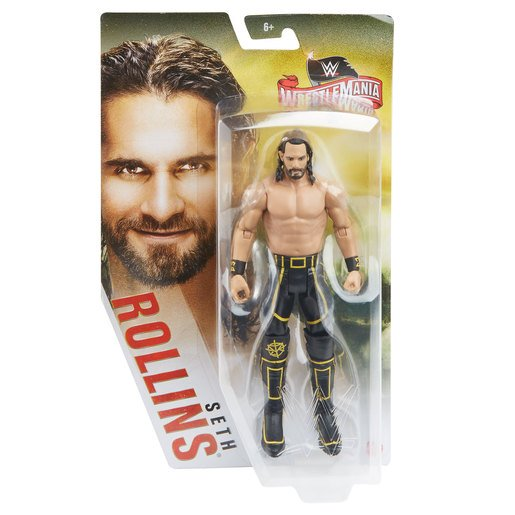Picture of WWE WrestleMania Figure - Seth Rollins