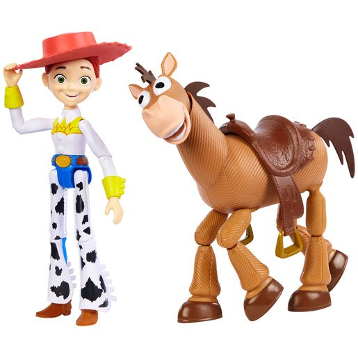 Picture of Disney Pixar Toy Story Jessie and Bullseye Figures