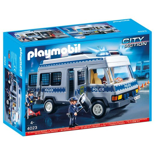 Picture of Playmobil 4023 City Action Police Van