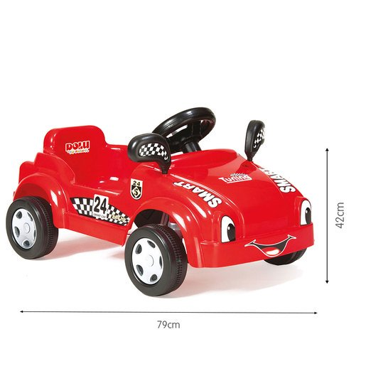 Picture of Dolu Pedal Racer Smart Car - Red