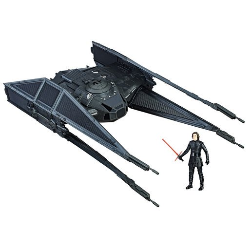 Picture of Star Wars Force Link Kylo Ren's Tie Silencer and Kylo Ren Figure