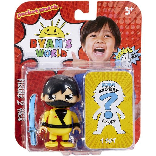 Picture of Ryan's World 2 Pack Mystery Figures (Styles Vary)