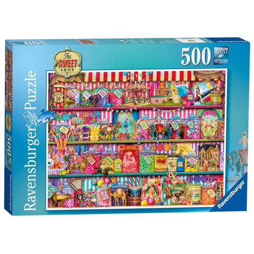 Picture of Ravensburger The Sweet Shop Puzzle - 500pc