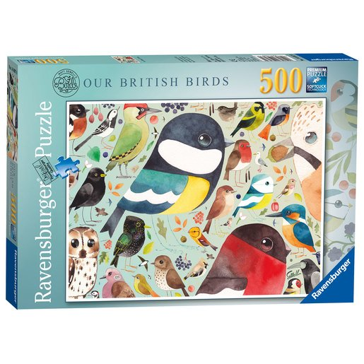Picture of Ravensburger Matt Sewell's Our British Birds Puzzle - 500pc