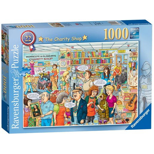 Picture of Ravensburger Best of British - The Charity Shop Puzzle - 1000pc