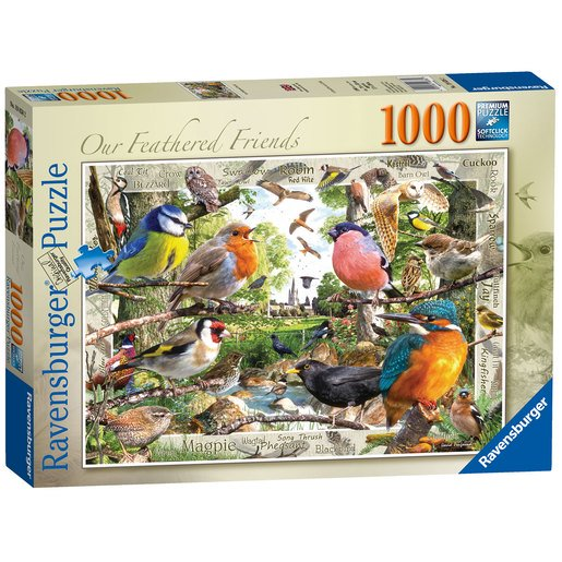 Picture of Ravensburger Our Feathered Friends - 1000pc
