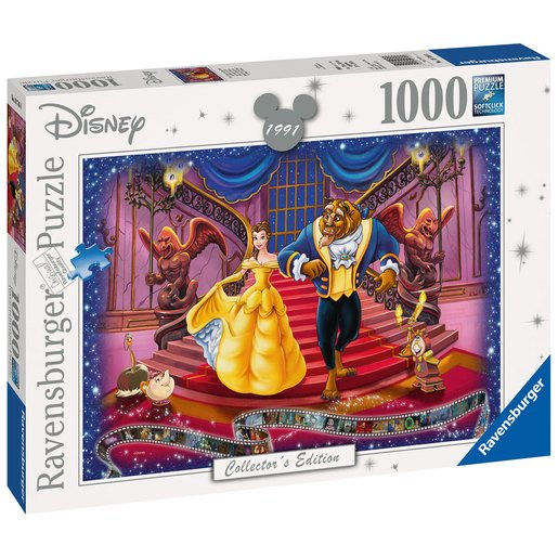 Picture of Ravensburger Disney Collector's Edition Puzzle 100pc. - Beauty & The Beast