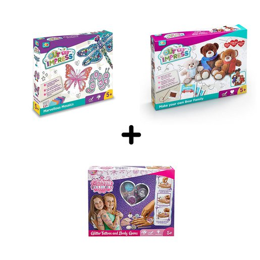 Picture of Arts and Crafts 5 Years+ Bundle - 3 Pack