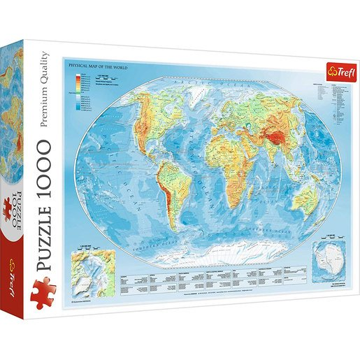 Picture of Trefl Map of the World Puzzle - 1000pcs.