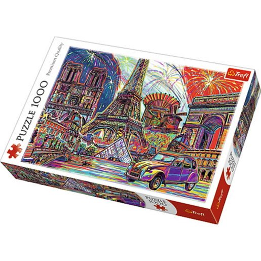 Picture of Trefl Colours of Paris Puzzle - 1000pcs.