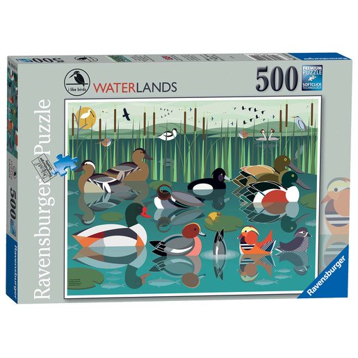 Picture of Ravensburger I like Birds Waterlands Puzzle - 500pc